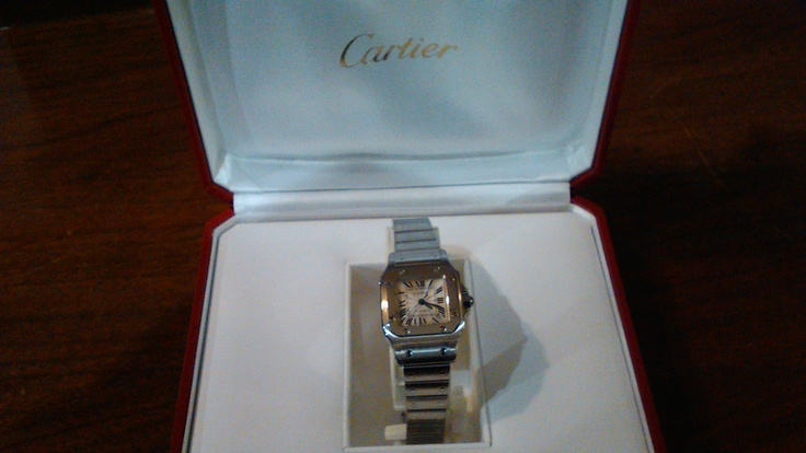 Ladies' Cartier wristwatch.