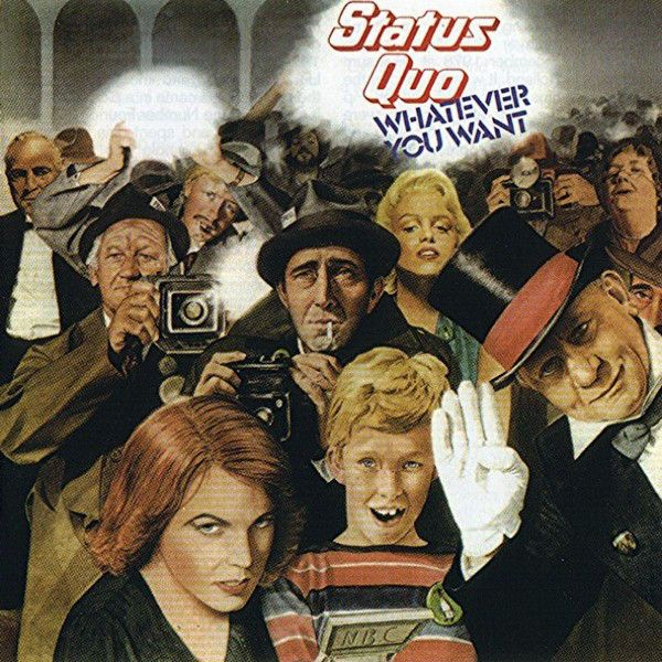 status quo- whatever you want