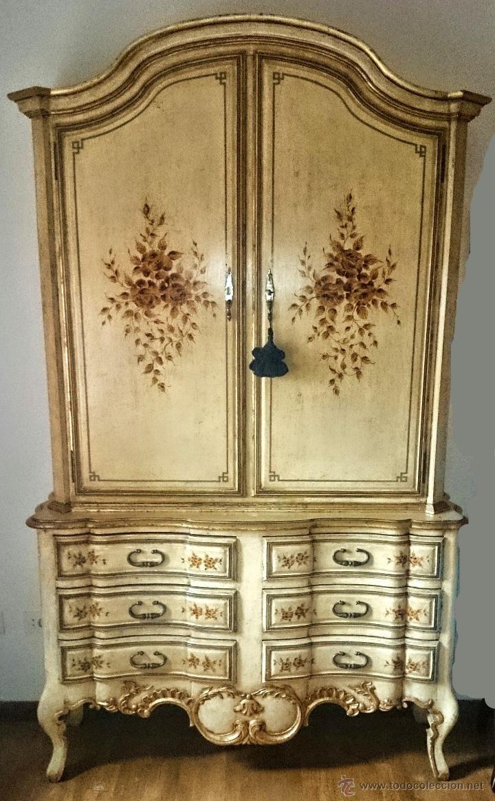 17 mejores ideas sobre armario antiguo en pinterest - Armarios antiguos pintados ...