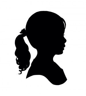 how to make silhouette portraits