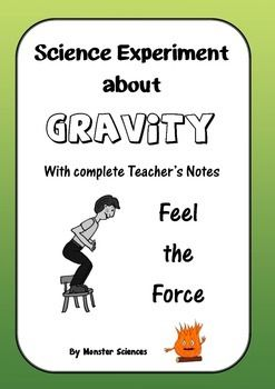 Science Experiment about Gravity - Feel the Force