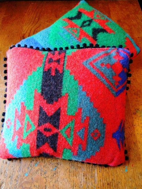 SouthWestern Style Decorative Pillow by julietsattic on Etsy, $20.00