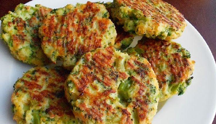 Diétne brokolicové placky - Receptik.sk