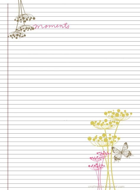 Best 25+ Stationary printable ideas on Pinterest DIY printable - notebook paper template for word