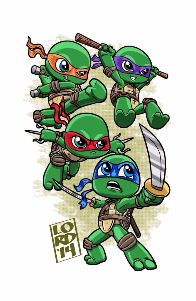 TMNT by Lord Mesa ~ So Kawaii