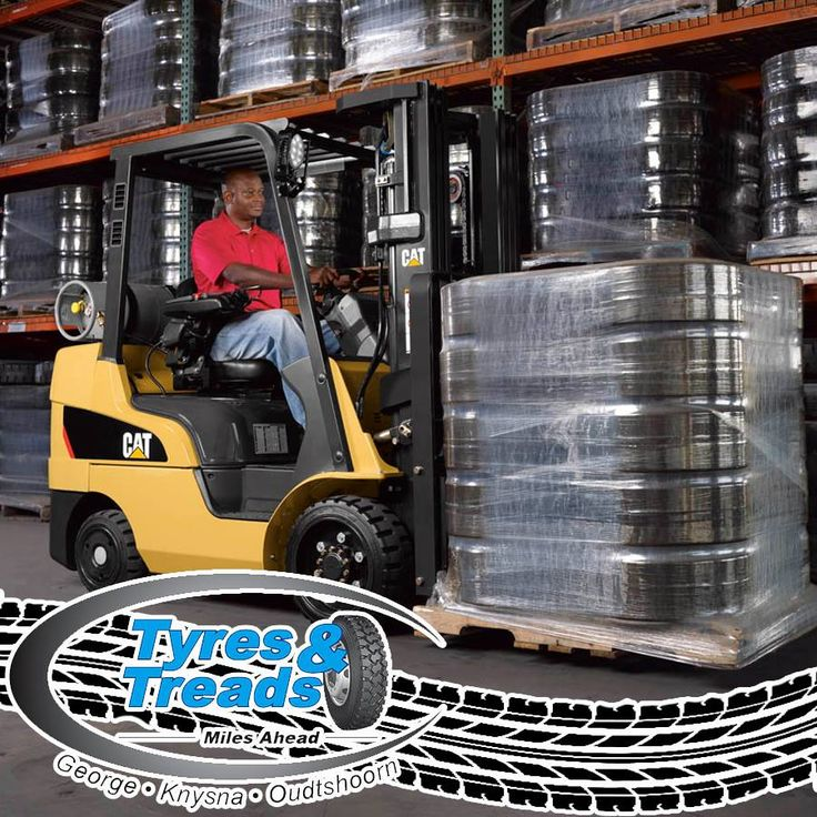 Did you know that at Tyres & Treads we also stock and check forklift tyres? Visit us at any of our branches and we can assist you! #construction #contractors #tyreservices