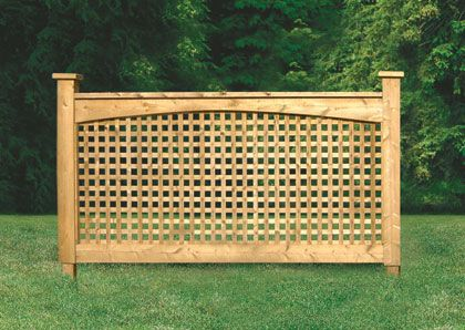 fence idea Would need chicken wire below (hide in plantings) to keep wee dog from wriggling under.