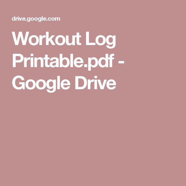 Best 25+ Workout log printable ideas on Pinterest Run planner - workout sheet