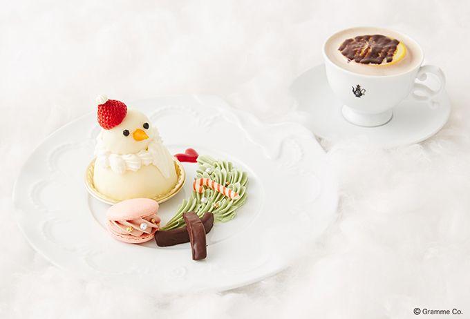 Q-pot CAFE.からクリスマスメニュー、スノーマンのケーキプレートやアフタヌーンティーセットの写真1