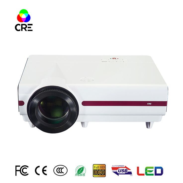 Full HD projector lcd display high brighness business projector