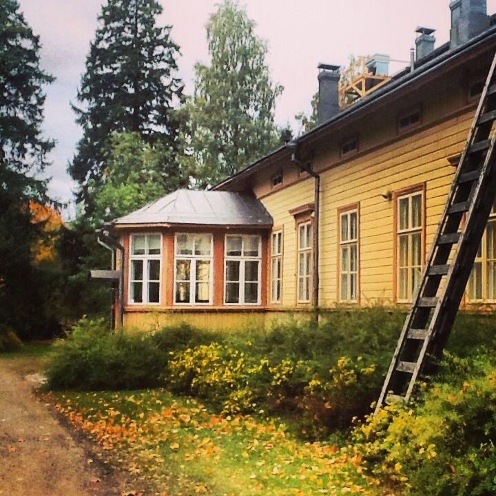 Wanha pappila in Lappeenranta, Old rectory in Lappeenranta, eastern finland