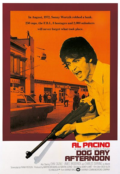 Classic film posters: Dog Day Afternoon: Draft 2