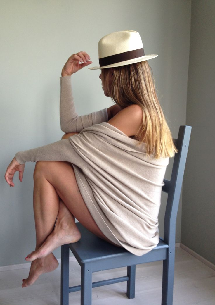 Ila KEIP nuance natural beige cashmere Loro Piana