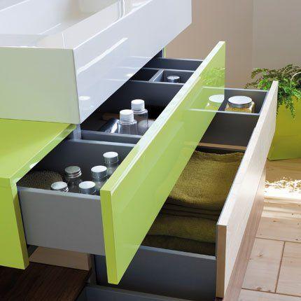 Rangement salle de bain : créez des séparateurs