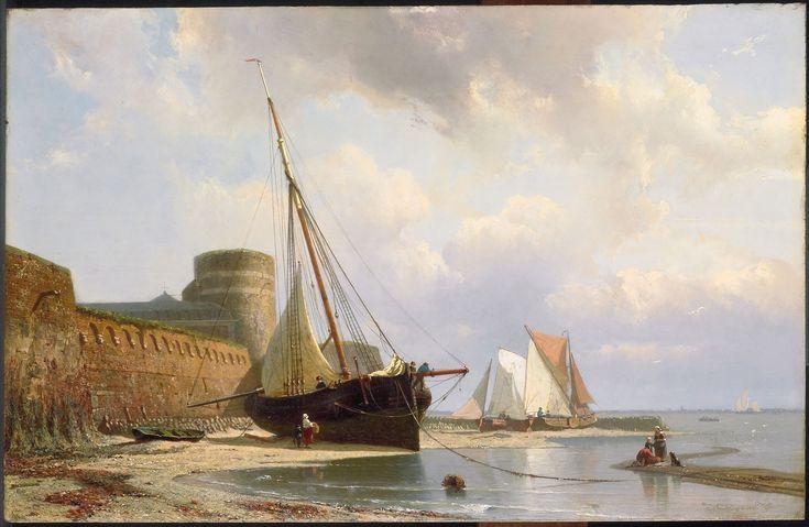 Het geheugen van Nederland - De bomvrije kazerne te Vlissingen 1870 Greive, Johan Conrad