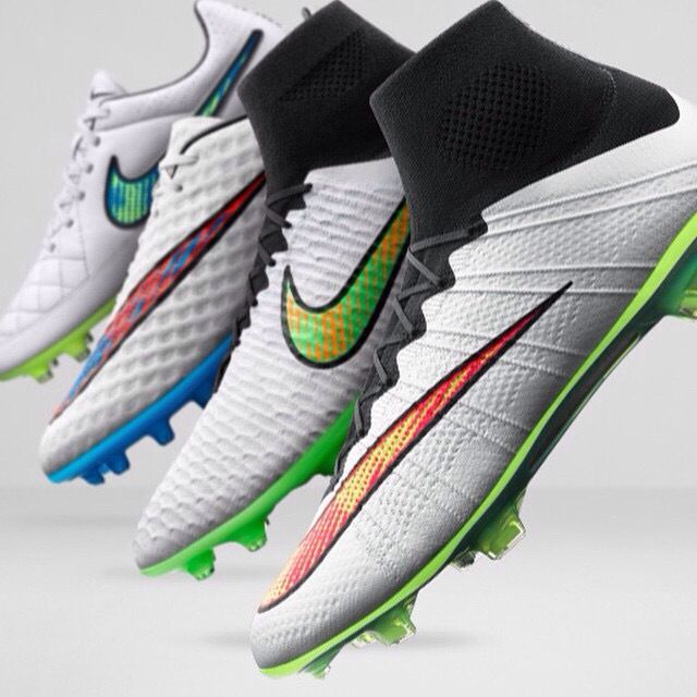 Nike Shine Through Pack Mercurial Magista Hypervenom and Tiempo