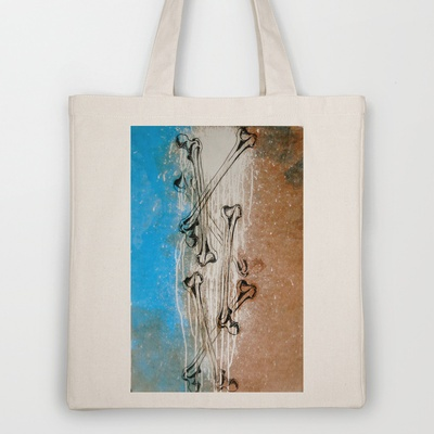 Need a new tote? Buy one from my best friend Chelsea-- she's a good one.     Femurfall Tote Bag by Chelsea Fredrikson - $18.00: My Best Friend