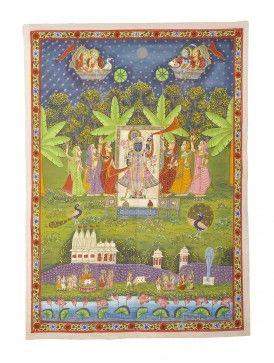 Lord Krishna Pichwai Painting