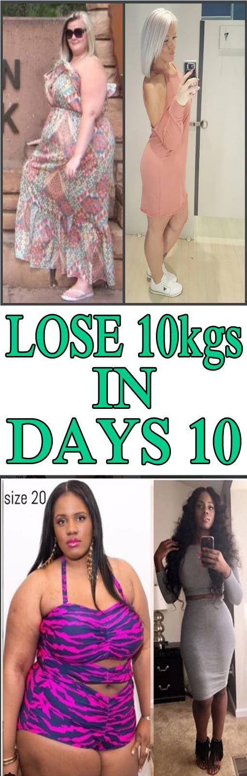How to lose 10kg in 2 weeks without exercise