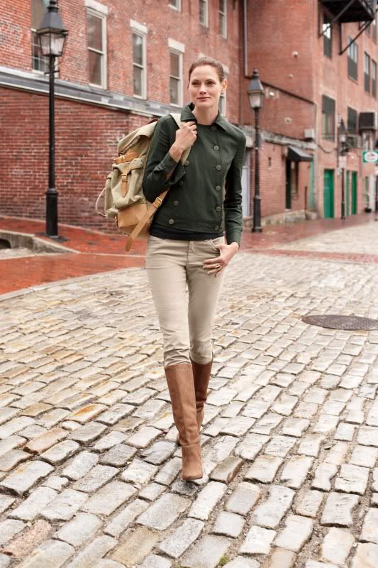 Cat Boots Women Outfit