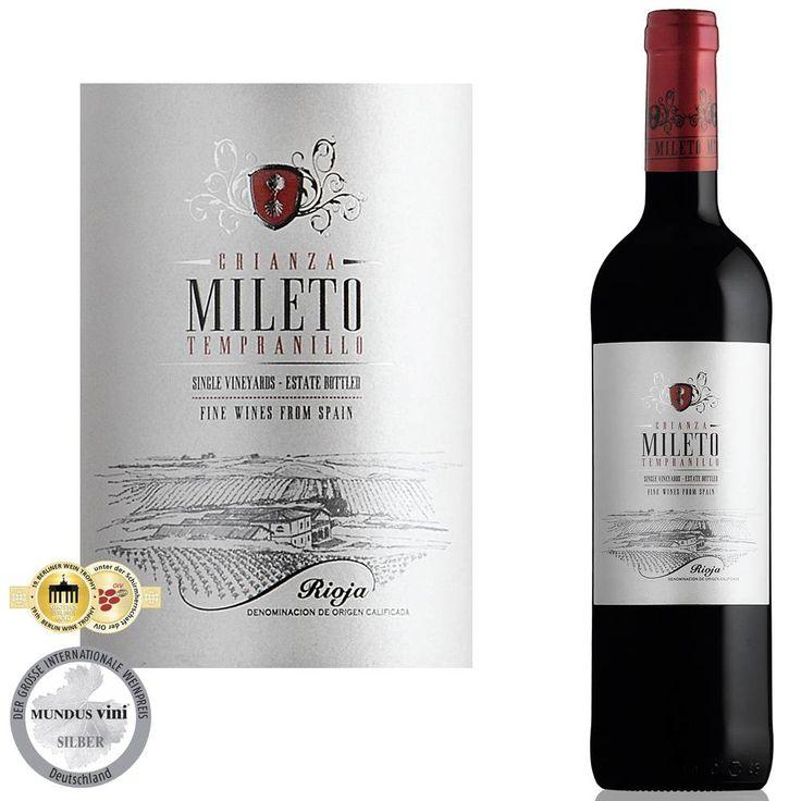 Deze stevige Spaanse rode wijn rijpte gedurende 12 maanden in Amerikaanse en Franse eiken vaten.