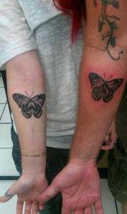 tatuagens de borboletas tinta na pele 27