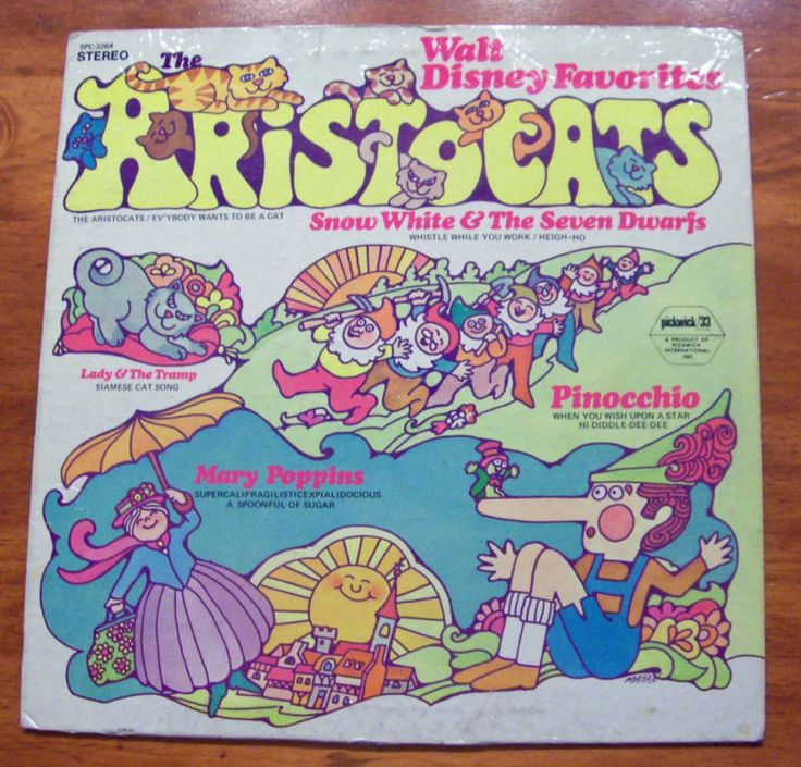 The Aristocats Other Favorite Songs Walt Disney Record | eBay