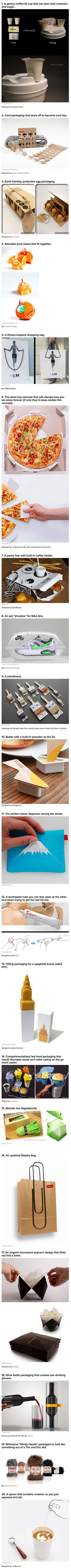20 mind-blowing packaging designs. Packaging: it's a necessary evil. So it may as well be clever.