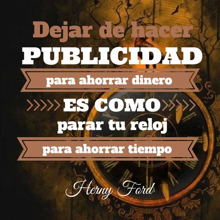 #pometafrases  Tens una #empresa? Et retem a baixar el #pressupost en #publicitat, a veure que passa...  Gran frase de Henry Ford sobre #publicidad