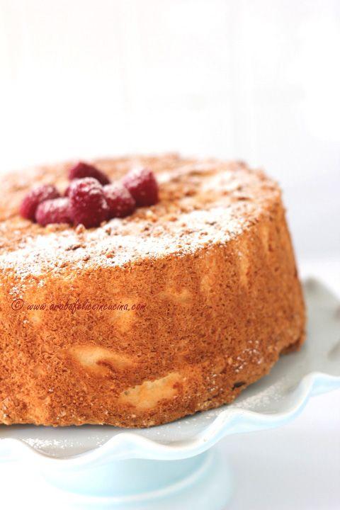 Arabafelice in cucina!: Angel Food Cake, ovvero la torta di soli albumi senza grassi e senza lattosio!