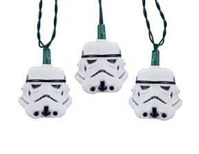Light the Dark Side with Star Wars Stormtrooper Helmet Light Set. Now on sale!