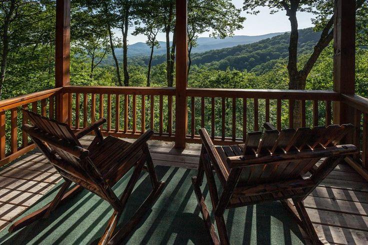 Blue Ridge Mountain View Cabin - Blue Ridge Cabins - Blue Sky Cabin Rentals