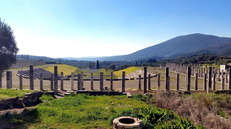 Amazing Ancient Messene - the Stadium and the Palaistra #ancientmessne #peloponnese #ancent #messene #greece #history #culture