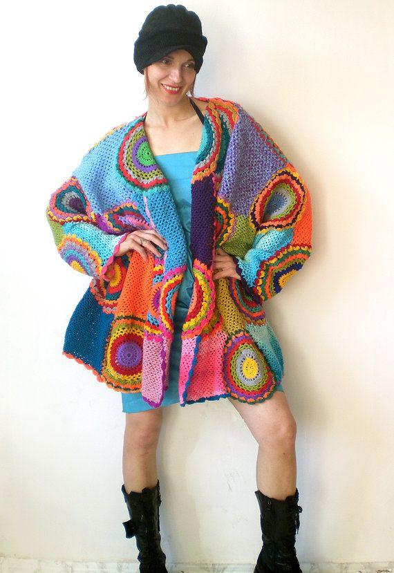 Cardigan oversize maglione Plus Size a manica lunga di subrosa123