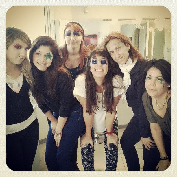 Algunas de nuestras alumnas!