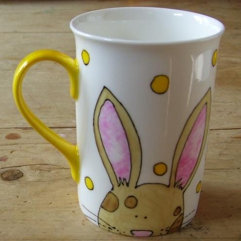 159 best easter ideas images on pinterest easter ideas hoppy easter bunny mug negle Gallery
