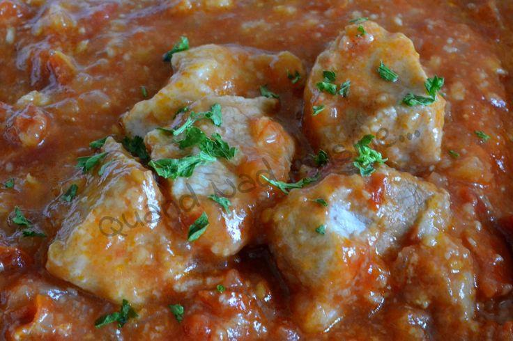 Sauté de porc aux deux tomates (au Micro Minute)