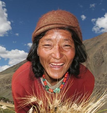 Høsttid. Indbyggerne i Zanskar gør klar til den ekstreme vinter.