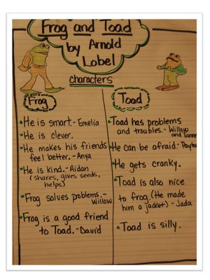frog and toad :)