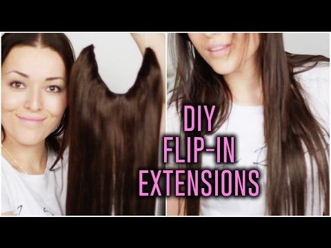 Best 25 flip in hair extensions ideas on pinterest flip in hair diy halo flip in hair extensions tutorial part 1 of 2 youtube pmusecretfo Choice Image