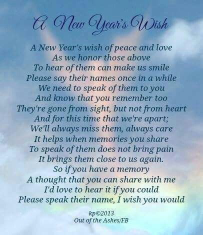 New Year's Wish.  I love to hear and comforted by Jack stories.   Everyone that ever met him has one.