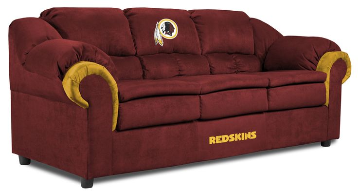 Redskins couch. Man cave dream.