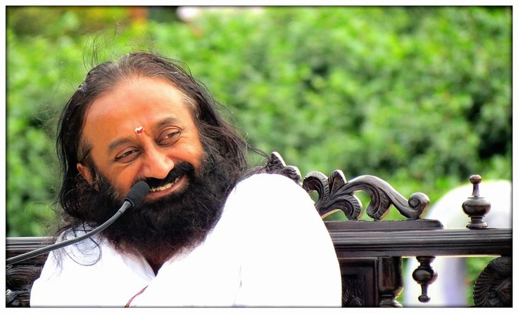 Infinity is available, but not tangible; the Guru is infinite and tangible; personal and divine. - Sri Sri <3 www.srisrimiracles.com