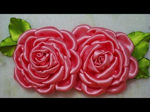 04 Flores de Tecidos Que Voçê vai Aprender de Forma Simples e Rápido para Tiara Broche e Cabelo - YouTube
