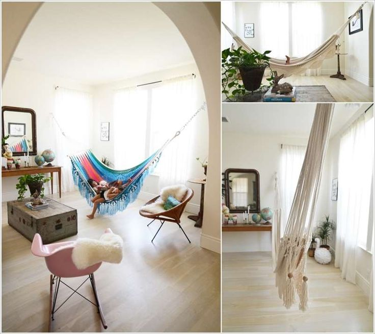 A hammock to swing and relax great ideas pinterest for Unconventional flooring ideas