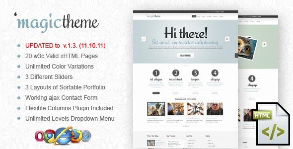 MagicTheme xHTML/CSS Template