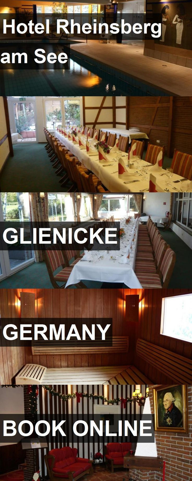 Hotel Hotel Rheinsberg am See in Glienicke, Germany. For more information, photos, reviews and best prices please follow the link. #Germany #Glienicke #HotelRheinsbergamSee #hotel #travel #vacation