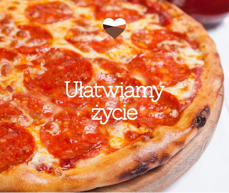 Ułatwiamy życie! <3 #pizza #pizzazsalami #makinglifeeasier