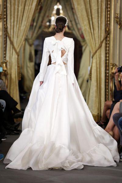 Vestidos de novia con cintas y lazos 2017: 30 diseños llenos de romanticismo Image: 13