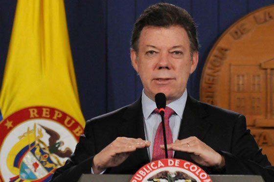 Presidente Santos defiende patrimonio de galeón hallado frente a costas colombianas